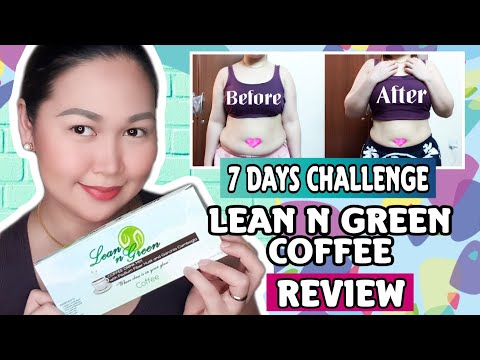LEAN N GREEN COFFEE REVIEW | 7 DAYS CHALLENGE