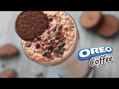 Oreo Cold Coffee   Cold Coffee in 2 Minutes   Cold Coffee Recipe