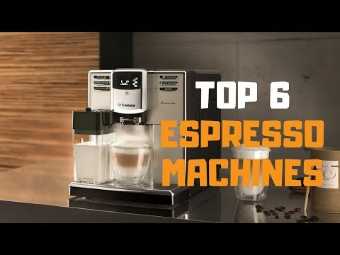 Best Espresso Machine in 2019 – Top 6 Espresso Machines Review