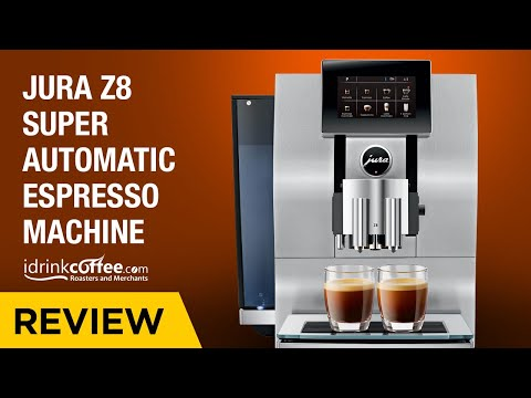 Jura Z8 Touch Screen Super Automatic Espresso Machine Review