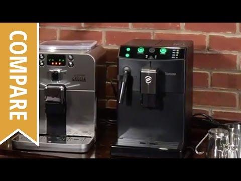 Compare: Gaggia Brera and Saeco Pure Espresso Machines