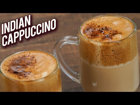 Indian Cappuccino – Quick And Easy Cappuccino Recipe – How To Make Hand Beaten Coffee – Varun