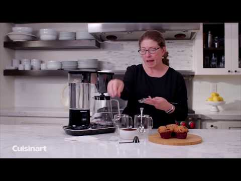 Cuisinart® Demo | Cuisinart 12-Cup Programmable Coffeemaker
