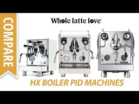 PID HX Boiler Espresso Machines: Bezzera BZ07, Profitec Pro 500 PID and Rocket Evoluzione R Giotto