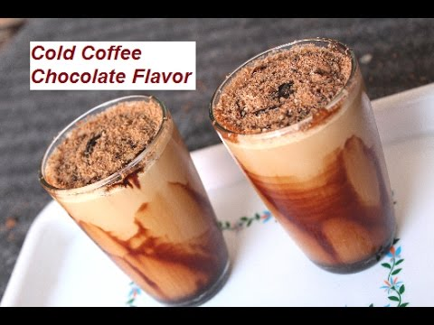 Summer Special Cold Coffee Chocolate Flavor | Cold Coffee Beverage Recipe At Home