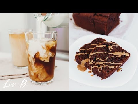 Double Chocolate Banana Bread + Iced Dirty Chai Recipe   Liv B