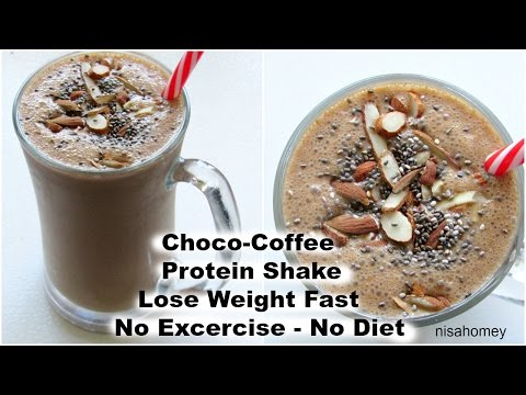 How To Lose Weight Fast – 2 kgs -No Exercise or Diet – Coffee Protein Smoothie/Shake For Weight Loss