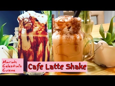 Cold Coffee Recipe. Cold Coffee with Ice Cream/ Iced Coffee at home (Cafe Latte – Shake)