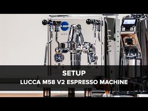 LUCCA M58 V2 Espresso Machine by Quick Mill Setup