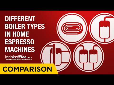 Comparing Different Boiler Types in Home Espresso Machines