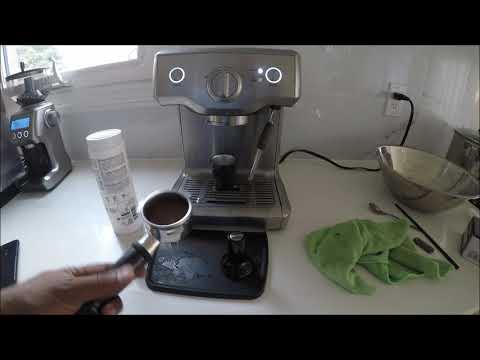 Breville Duo Temp Pump Espresso Machine Descaling & Cleaning