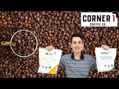 Corner One Coffee Co. Whole Bean Coffee Review | Fair Trade, Organic, Carbon Neutral