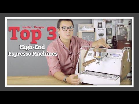 Top 3 High-End Espresso Machines | SCG's Top Picks