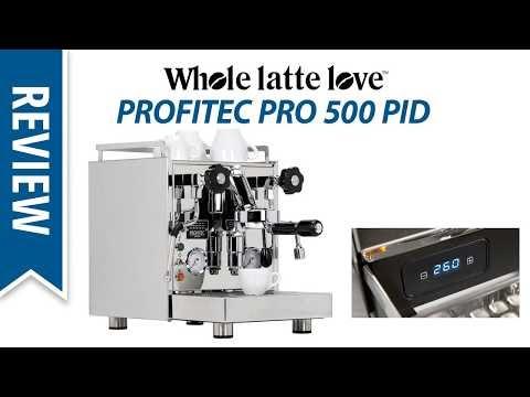 Review: Profitec Pro 500 PID Espresso Machine
