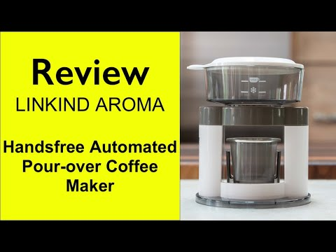 Review LINKIND Aroma Pour Over Coffee Maker, an Indiegogo project