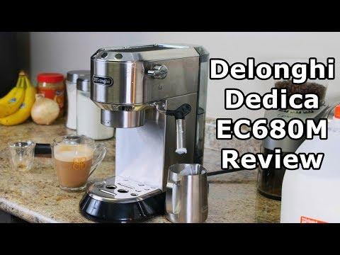 Delonghi Dedica EC680M Espresso Machine Review and Tutorial