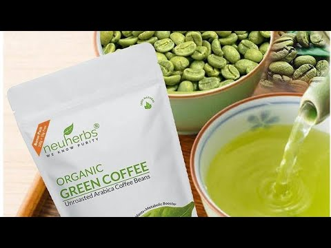 Neuherbs Organic green coffee for weight loss|Review