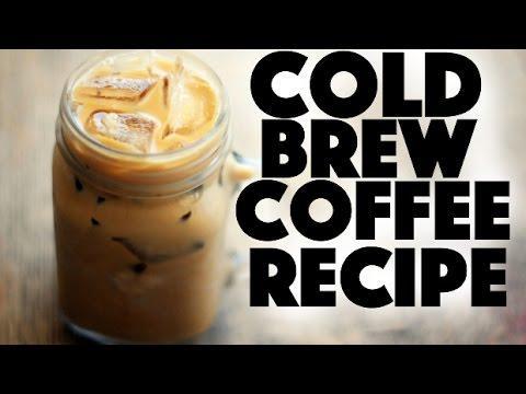 Cold Brew Coffee Recipe – Healthy Recipe Channel