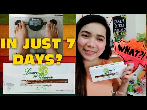 LEAN 'N GREEN COFFEE REVIEW / 7 DAYS CHALLENGE / 1ST IMPRESSION EFFECTIVE NGA BA?