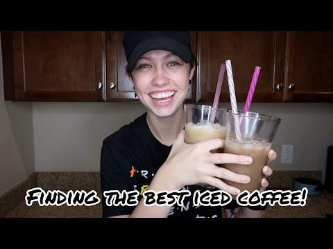 Finding the BEST Iced Coffee Recipe!