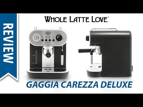 Review: Gaggia Carezza Deluxe Espresso Machine – Latte Art Capable!