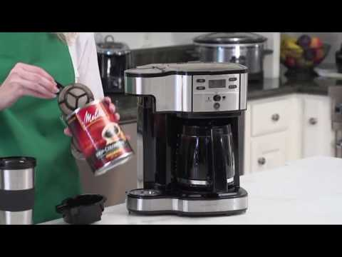 Hamilton Beach Single Serve Coffee Brewer and Full Pot Coffee Maker Review!+