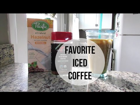 My Favorite Iced Coffee Recipe