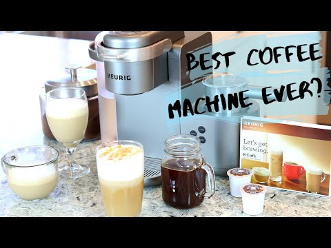 KEURIG K-Cafe 2019 REVIEW and Demo /4 Easy & Quick Coffee Recipes That You Need To try!