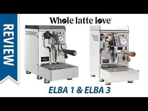 Review: New Elba 1 & Elba 3 Espresso Machines from 969.Coffee