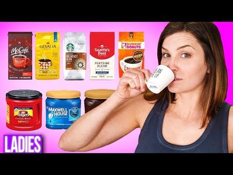 Blind Household Coffee Taste Test!