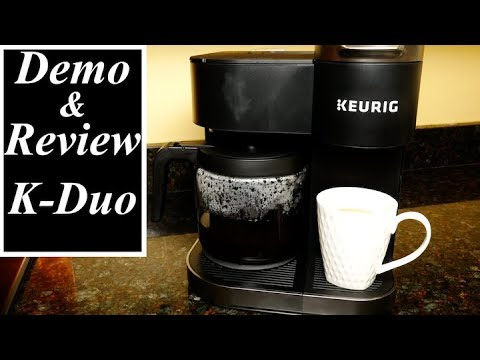 Keurig K-Duo Coffee Maker Review and Demo