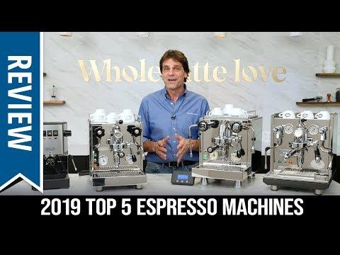 Top 5 Best Semi-Automatic Espresso Machines of 2019