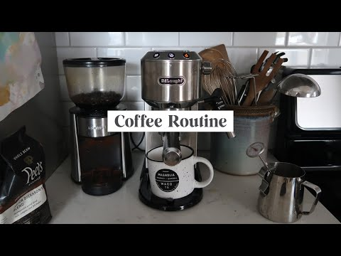 Morning Coffee Routine + DeLonghi Espresso Machine Review