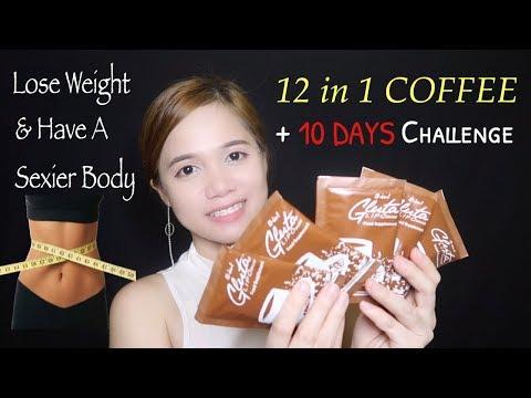 GLUTA LIPO 12 IN 1 DETOX COFFEE REVIEW | 10 DAYS CHALLENGE!