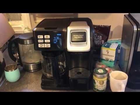 Hamilton Beach Flexbrew Coffeemaker review