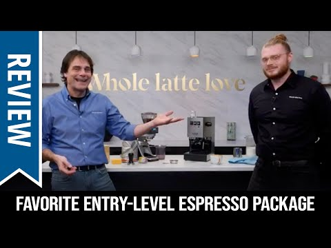 Live Review: Favorite Premium Entry-Level Espresso Machine & Grinder Package