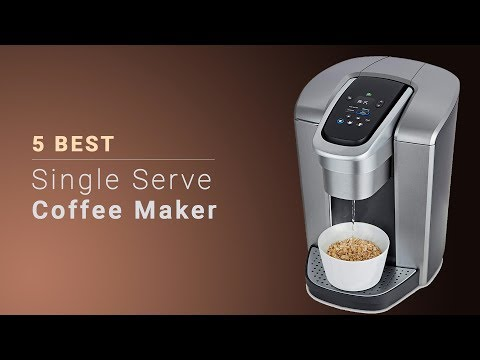 5 Best Single Serve Coffee Makers – The Best Single-Cup Coffee Makers Reviews