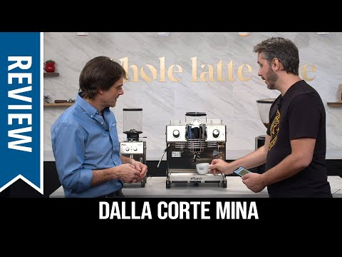 Review: Dalla Corte Mina Flow Profiling Espresso Machine