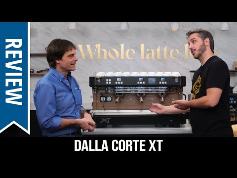 Review: Dalla Corte XT Commercial Espresso Machine