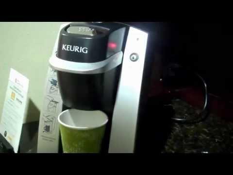 Hilton Garden Inn's Grill and A Keurig Coffee Maker Demo