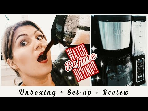 NINJA COFFEE MAKER UNBOXING, SET-UP & REVIEW // WHAT I REALLY THINK!!