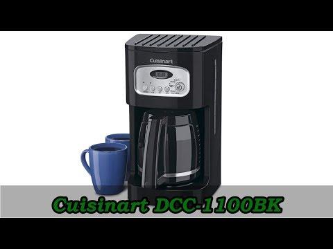 Cuisinart DCC-1100BK – Best 12 Cup Programmable Coffeemaker Under $50