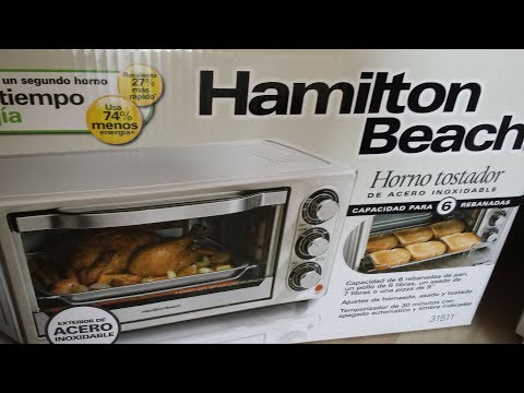 Hamilton Beach Toaster Oven, Broil, and Bake Model 31511