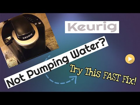 Keurig Coffee Maker ~ Keurig not pumping water anymore?  Super FAST Easy Fix! (In Seconds)