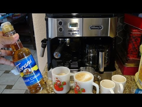 DeLonghi All In One Coffee Maker & Espresso Machine Review! How to Make Latte & Cappuccino!
