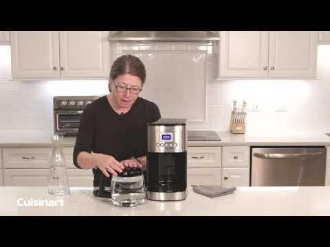 Cuisinart® | How to Clean your Coffeemaker! DCC-3200