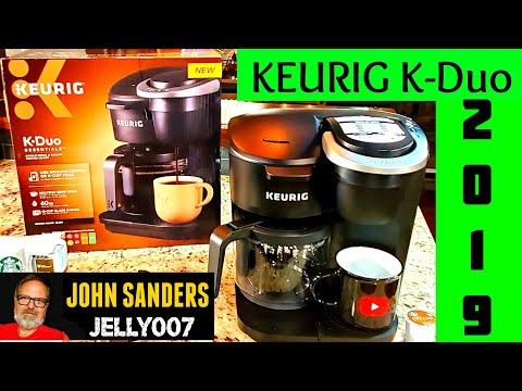KEURIG K-Duo ESSENTIALS | DUAL PURPOSE | K CUP & GROUND COFFEE BREWER 2019