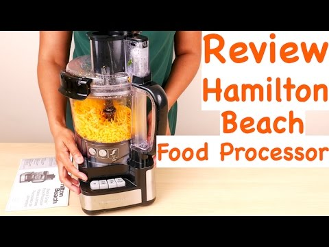 Hamilton Beach Stack and Snap Food Processor Review