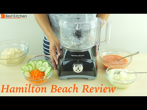 Hamilton Beach 8-Cup Food Processor Review – 70740