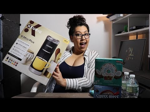 I Try The Keurig Mini Plus Coffee Maker!